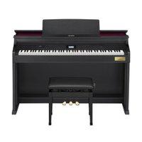 Piano Digital Casio Celviano AP-700 BK Preto + Banqueta de piano, adaptador CA, caderno partitura, suporte fone ouvido
