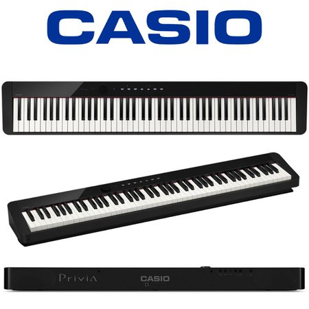 KIT Piano Digital Privia Casio PXS1000 + Móvel Pedal Sustain