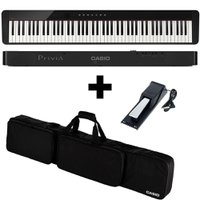 KIT Piano Digital Privia Casio PX S1000 +BAG + Pedal Sustain