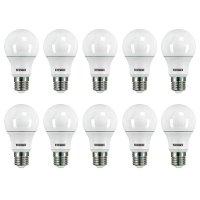 KIT 10 Lâmpadas Led Taschibra TKL 60 9W Bivolt E27 6500K - Luz Branca