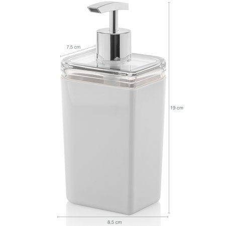Kit Conjunto Banheiro Utensílios Bancada Escovinha Lixeira Branco