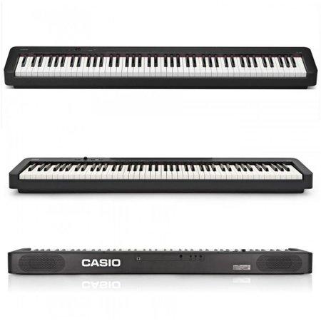KIT Piano Digital Casio CDP-S100 BK + Móvel + Pedal Sustain