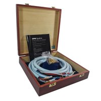 Cabo Caixa Acústica high-end Bi-Wire Quadrax Combicon 4x2.0 Supra Cables 3mt (Par)