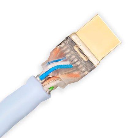 Cabo HDMI HD AV HD5 High Speed Ethernet Supra Cables 12mt Branco