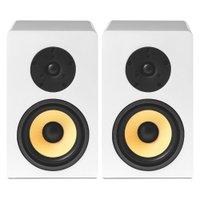 AAT BSF-100 - Par de caixas acústicas Bookshelf Branco