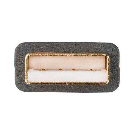 Cabo USB High Speed Para Áudio Tipo AB USB DAC Supra Cables 2mt Branco