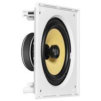 Caixa acústica de embutir quadrada JBL CI8S com cone de Kevlar 8