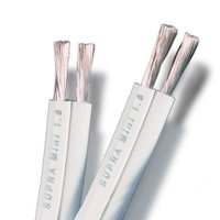 Cabo Caixa Acústica Supra Cables Classic Mini 2 x 1.6mm 10mt Branco