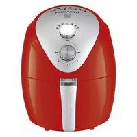 Fritadeira Elétrica Sem Óleo Fryer Silver 1270w Afv-01 Vermelho - Agratto