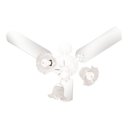 Ventilador de Teto Venti-Delta New Beta com 3 Pás Branco