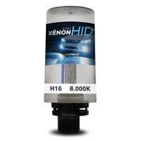 Lâmpada Xênon Reposição H16 8000K 12V 35W Tonalidade Azulada Aplicação Farol