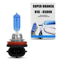 Lâmpada Super Branca H16 8500K 19W 12V Efeito Xênon