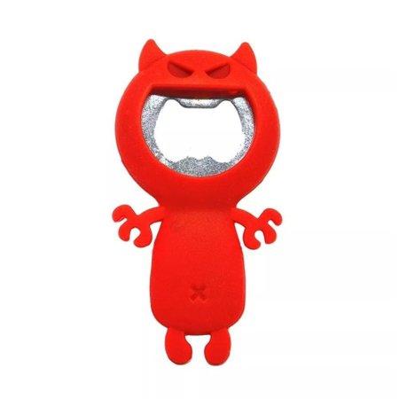 Abridor de Garrafas Crazy Cat Vermelho - Prana