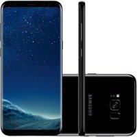 Celular Samsung Galaxy S8+ Preto - 128GB Android 7 Octa 12MP Tim Desbloqueado
