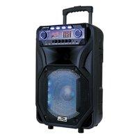 Caixa de Som Sumay Amplificada Thunder Black 400W Bluetooth Preto