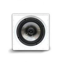 Caixa Acústica Quadrada AAT Q6-100AL Borderless 100W RMS Preto