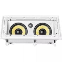 Caixa Acústica de Embutir Retangular Angulada JBL CI-55RA 100W Branco
