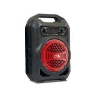 Caixa de Som Portátil Sumay Gallon Music SM-CSP1303 Bluetooth Vermelho