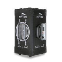 Caixa de Som Amplificada Sumay SM-CAP07 200W Bluetooth Preto