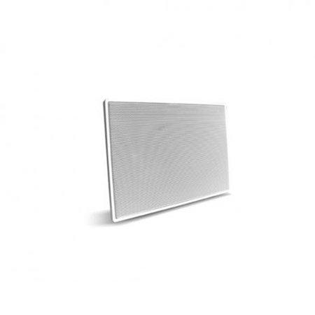 Caixa Acústica de Embutir Retangular AAT LR-E100 100W RMS Branco