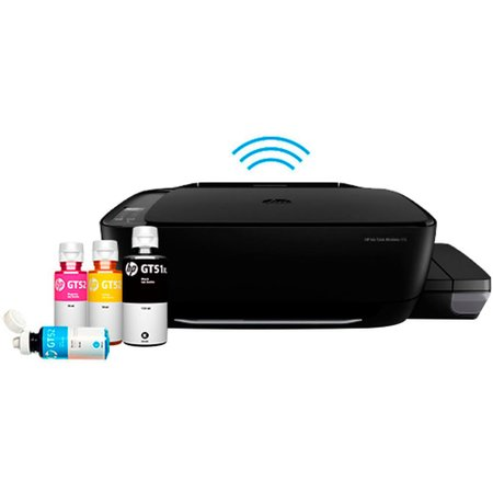 Impressora Multifuncional HP Ink Tank Wireless 416 Colorida Preto