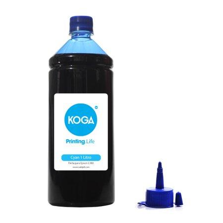 Compatível: Tinta Sublimática para Epson L380 Bulk Ink Cyan 1 Litro Koga