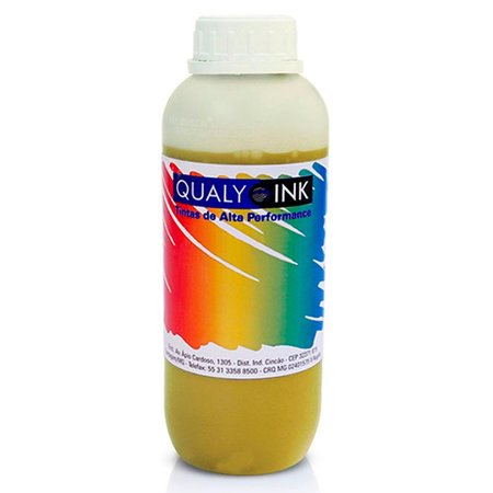 Compatível: Tinta para Epson Ecotank L395 Yellow Corante Qualy Ink Aditivada 1 Litro