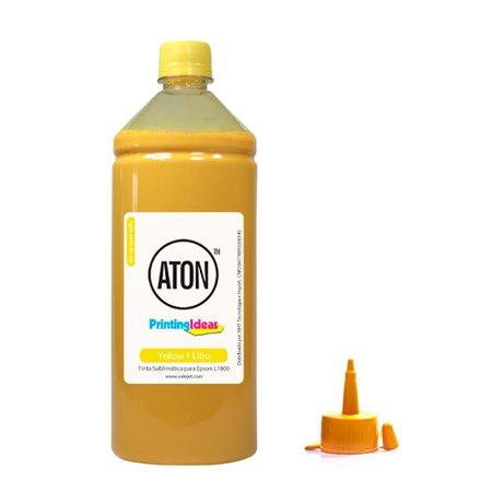 Compatível: Tinta Sublimática para Epson L1800, L-1800 Ecotank Yellow Aton 1L