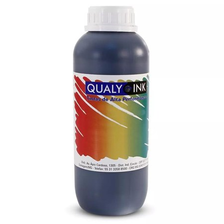 Compatível: Tinta para Epson L495 EcoTank Black Corante Qualy Ink 1 Litro