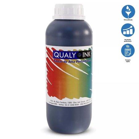 Compatível: Tinta para Epson L380 EcoTank Black Corante Qualy Ink 1 Litro