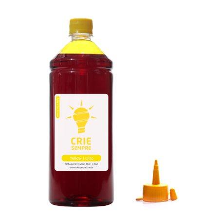 Compatível: Tinta para Epson L365 Premium Crie Sempre Yellow 1 Litro Corante