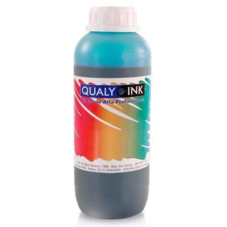Compatível: Tinta para Epson L1800 Bulk Ink Cyan Light 1 Litro Corante Qualy Ink