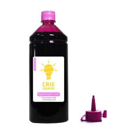 Compatível: Tinta para Epson L800 Premium Crie Sempre Magenta Light 1 Litro Corante