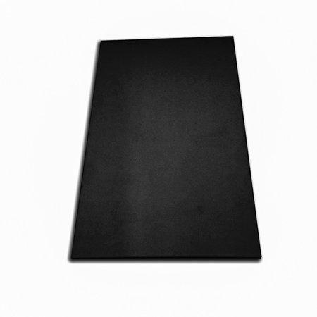 Tabua de Corte LISA em polietileno - Preta - Grande