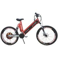 Bicicleta Elétrica 800W Aro 26 Full Suspention EXTREME Vermelha
