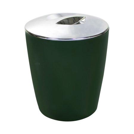 Lixeira 5 Litros Verde Botânico Com Tampa Cozinha Banheiro