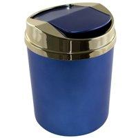 Lixeira Basculante Quarto Menino 5 Litros Azul Fosco