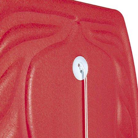 Prancha Bodyboard Aloha 57cm x 35cm - Vermelho