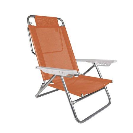 Cadeira Reclinável Summer Fashion - Coral