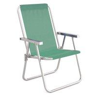 Cadeira Alta Conforto Alumínio Sannet - Anis
