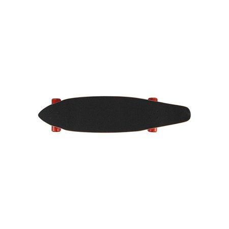Skate Longboard 96,5cm x 20cm x 11,5cm Sortido - Preto