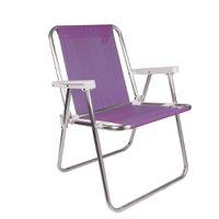Cadeira Alta Alumínio Lilás