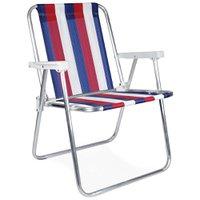 Cadeira Alta Alumínio - 2228