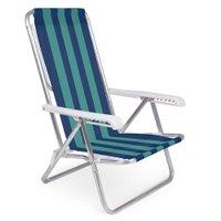 Cadeira Reclinável Alumínio 8 Posições - 2229