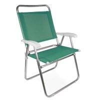 Cadeira Master Plus Fashion Alumínio - Anis