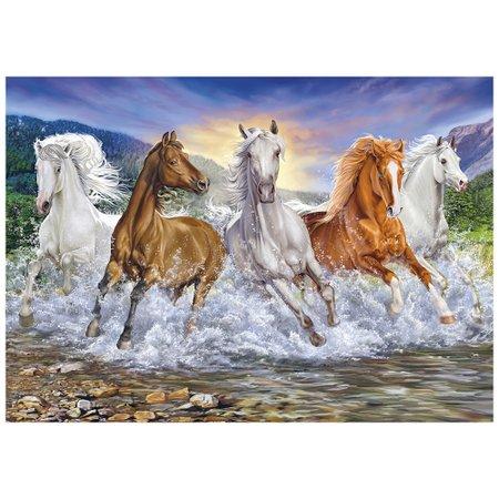Puzzle 1500 peças Cavalos Selvagens