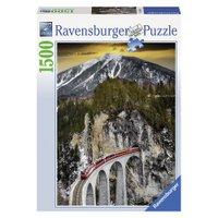 Puzzle 1500 peças Inverno no Canyon - Ravensburger - Importado