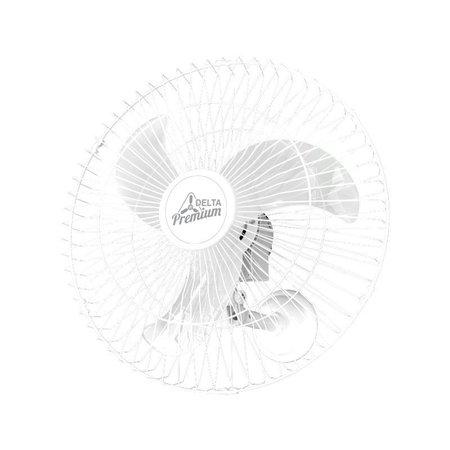 Ventilador de Parede Venti-Delta Premium 60cm Branco Bivolt