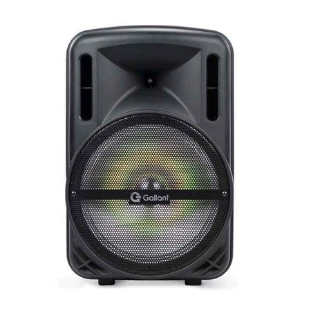 Caixa de Som Portátil Gallant 200W Radio FM Bivolt Bluetooth 4.2 USB/SD/AUX