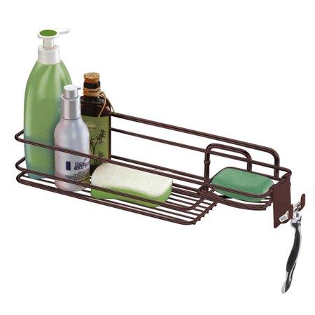 Suporte Porta Shampoo Com Saboneteira de Parede Luxuoso